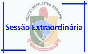 Convocação para Sessão Extraordinária